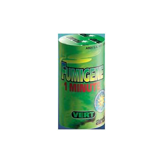 Fumigène en pot vert