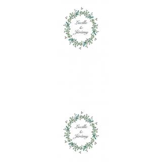 Chemin table personnalisé thème champetre