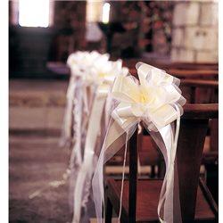Décoration Voiture Mariage Nœud Chic