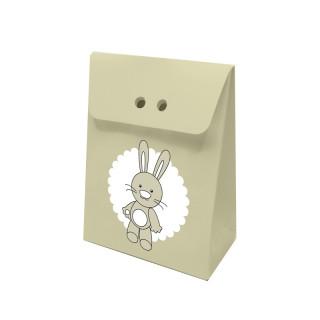 10 x contenants à dragée lapin