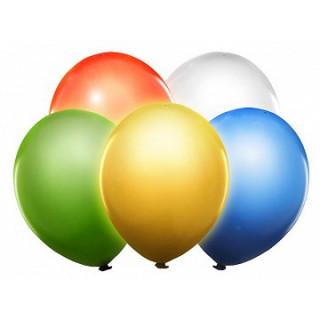 x5 Ballons de baudruche LED