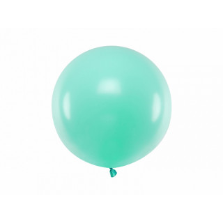 Ballon géant 60cm menthe pastel