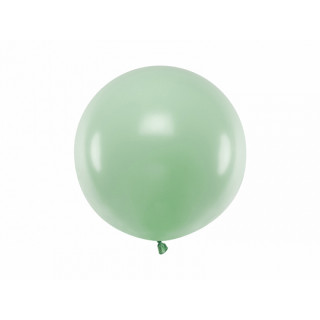 Ballon géant 60cm pistache pastel