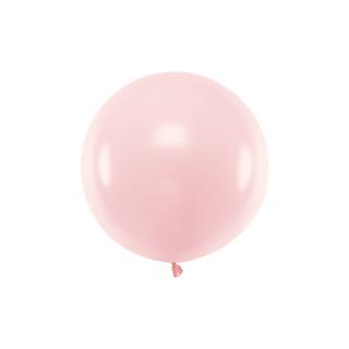 Ballon géant 60cm rose pastel