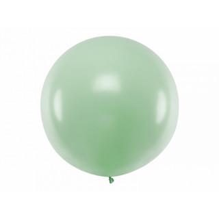 Ballon géant de Baudruche 1 mètre Pistache Pastel