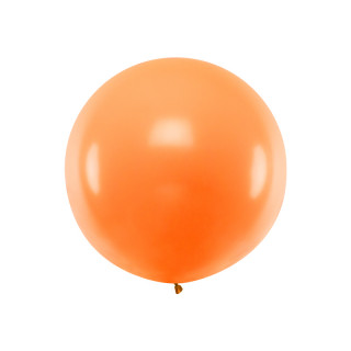Ballon géant de Baudruche 1m Orange