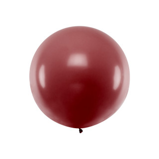Ballon géant de Baudruche 1m Bordeau