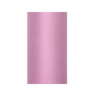 Rouleau Tulle rose poudré 9 m x 5 cm