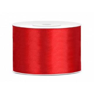 Ruban Satin Rouge 5cm - 25m