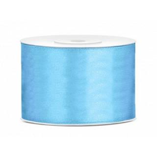 Ruban Satin Bleu ciel 5cm - 25m