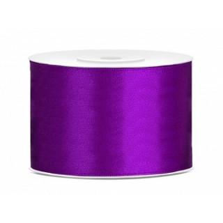 Ruban Satin Violet 5cm - 25m