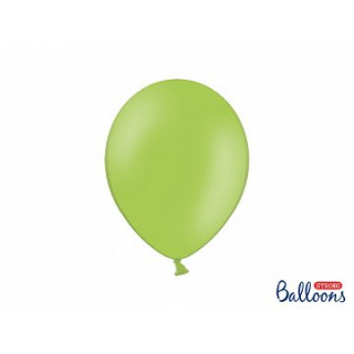 x10 Ballon de baudruche Vert pastel