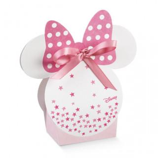 x1 Ballotin à dragées oreille Minnie rose