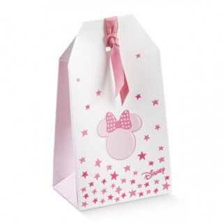 x1 Sachet à dragées Minnie rose