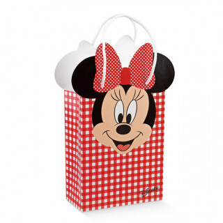 x1 Sac Minnie vichy rouge