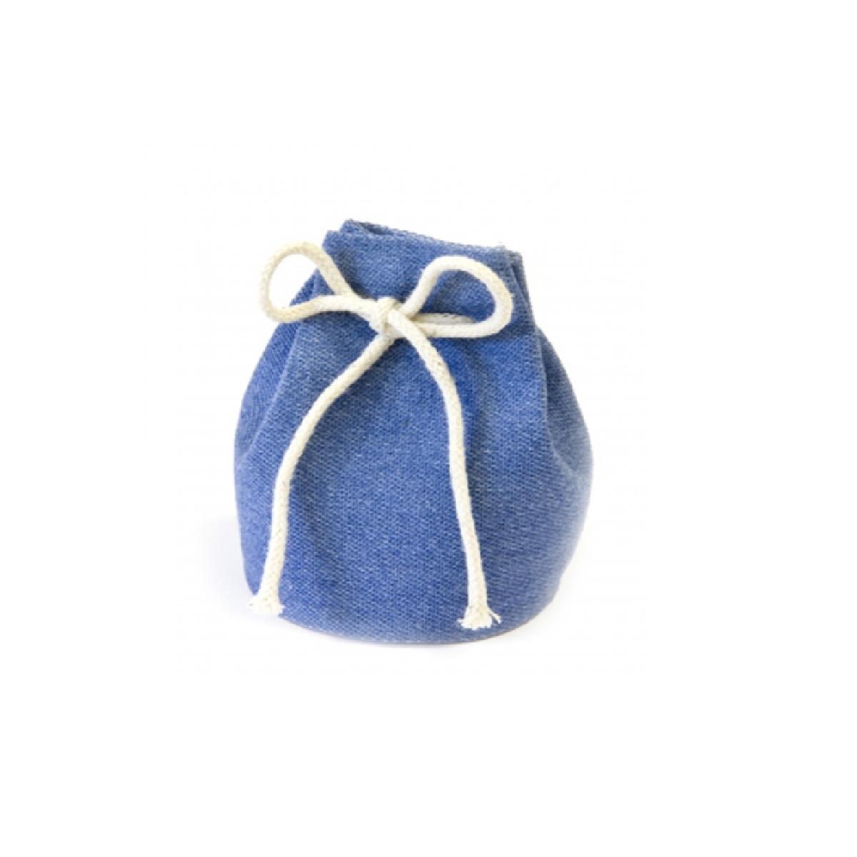 bourse dragées bleue