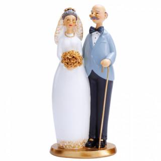 Figurine mariage agée
