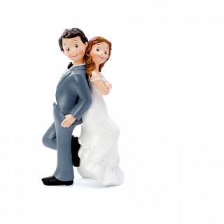 Figurine mariage dos à dos