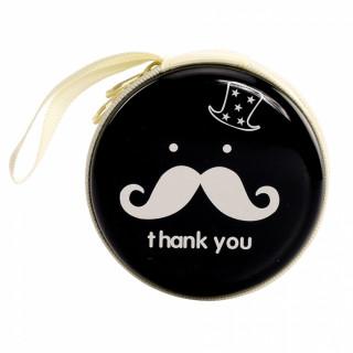 x1 Porte monnaie moustache