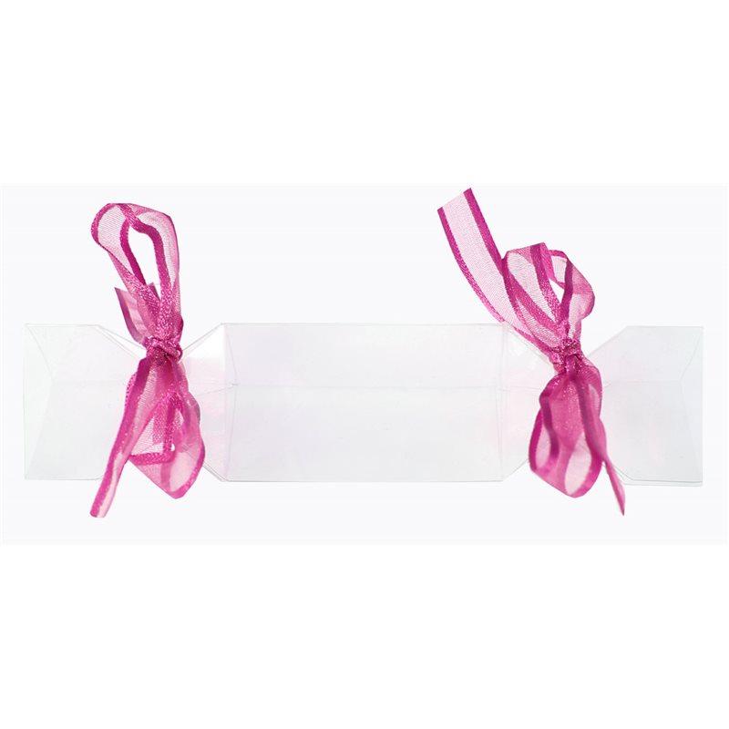3x Boite dragées bonbon  avec ruban