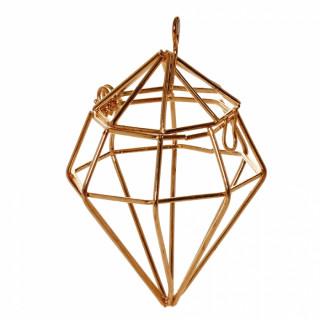 x1 Diamant en métal