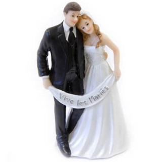 Figurine mariage Vive les mariés