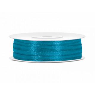 Ruban Satin Turquoise 3mm - 50m