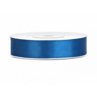 Ruban Satin bleu 12mm - 25m