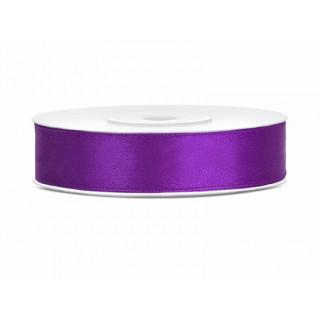 Ruban Satin violet 12mm - 25m
