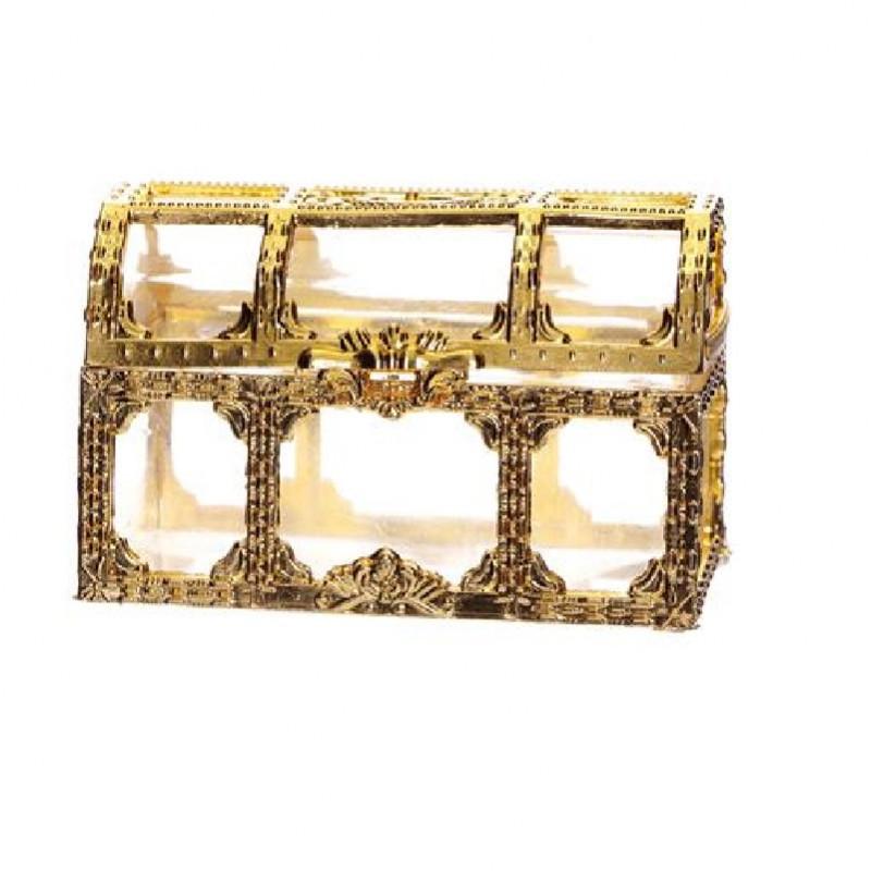 contenant dragée ornement or