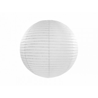 Lanterne Papier 20 cm - blanc x1