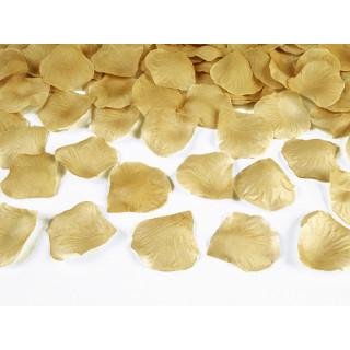 Pétales de roses dorées 100 pcs