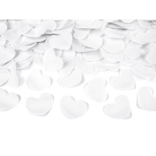 Canon à Confettis Coeur blanc