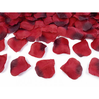 Pétales de roses rouges 100 pcs