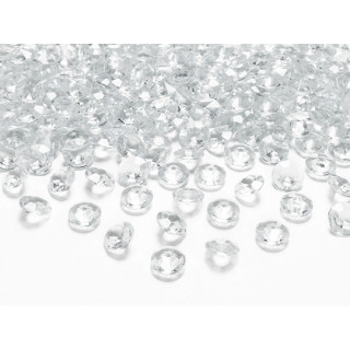 Diamant transparent 100 pcs