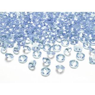 Diamant bleu ciel 100 pcs