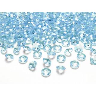 Diamant turquoise 100 pcs