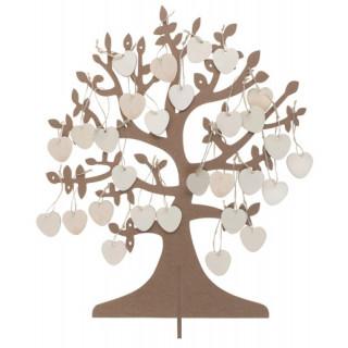 Livre d'or arbre à voeux