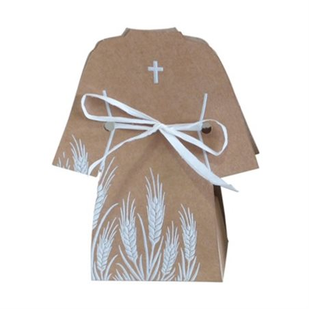 Ballotin Dragées Communion Robe