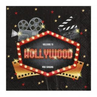 Serviette cinéma Hollywood