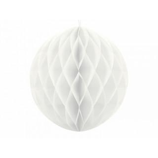 x1 Boule Alvéolée 30cm - Blanche