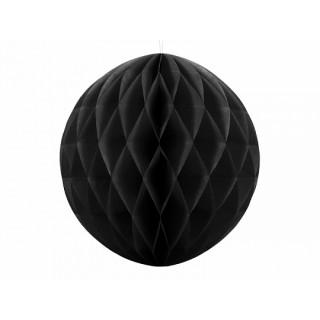 x1 Boule Alvéolée 10cm - Noire