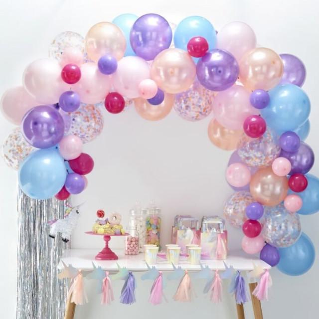 kit arche a ballons pastel