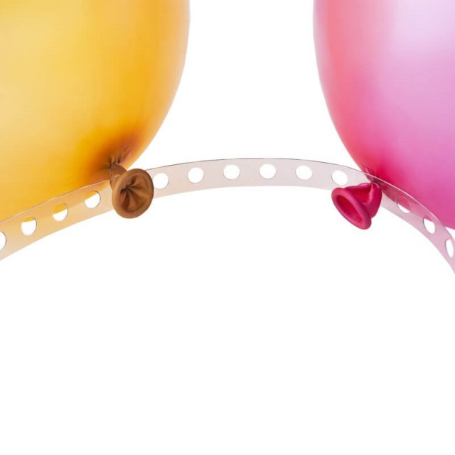 ruban attache ballon