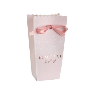 Boite Beautiful Day rose poudré et rose gold