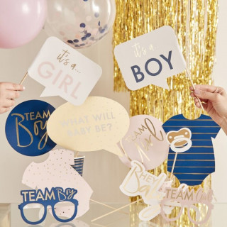 photo booth baby shower