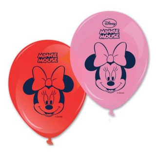x8 Ballons Minnie