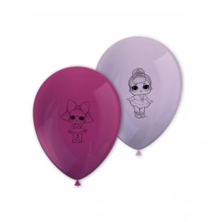 x8 Ballons Poupée LOL surprise
