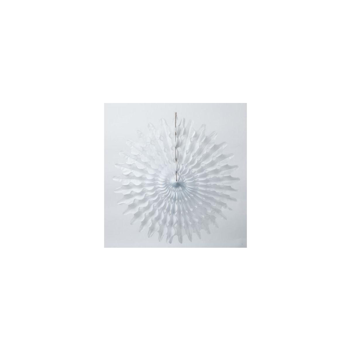 Rosace papier blanc 50cm