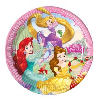 x8 Assiettes Princesses Disney